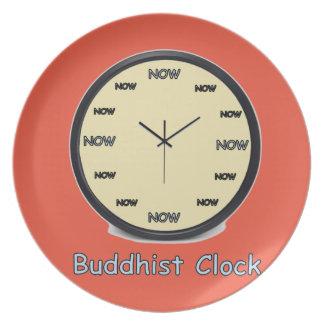 Buddhist Now Clock Plate