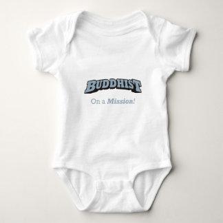 Buddhist - On a Mission! Baby Bodysuit