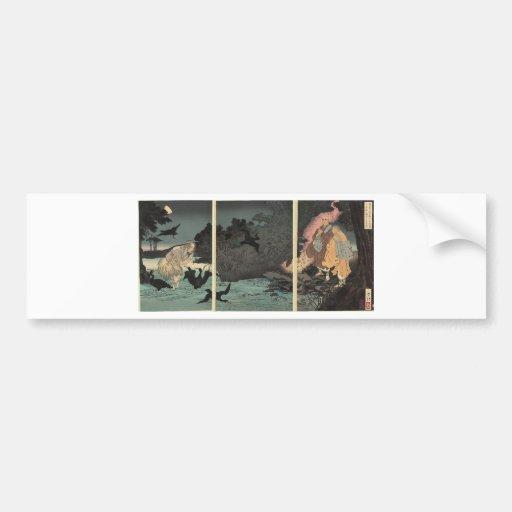 Buddhist priest and the fisherman c. 1885 bumper sticker