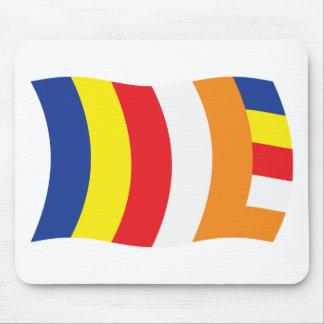 Buddhist Religion Flag Mousepad