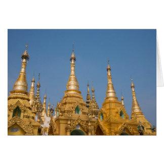 Buddhist Shrines Card
