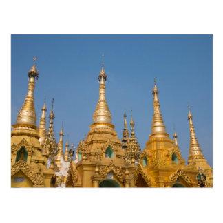 Buddhist Shrines Postcard
