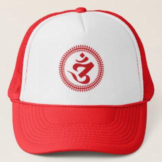 Buddhist Siddham Script Om Symbol Cap