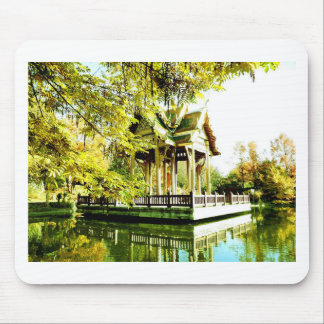 BUDDHIST TEMPLE MOUSE PAD