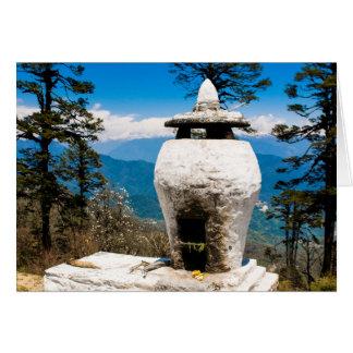 Buddhist Worship Site Card