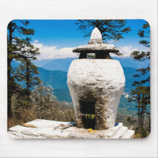 Buddhist Worship Site Mouse Pad