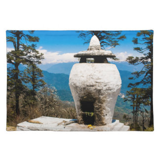Buddhist Worship Site Placemat