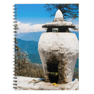 Buddhist Worship Site Spiral Notebook