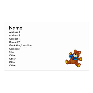 Buddy Bear Business Card