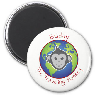 Buddy Logo Magnet, Round Magnet