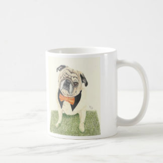 Buddy Love the Pug Coffee Mug