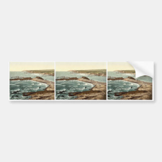 Bude, entrance to harbor and breakwater, Cornwall, Bumper Sticker