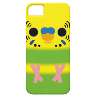 Budgerigar (Lightgreen pied Male) iPhone 5 Cases