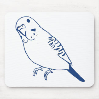 Budgerigar Mouse Pad
