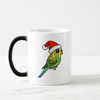 Budgerigar Santa Claus Magic Mug