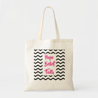 Budget bag Chevron Print