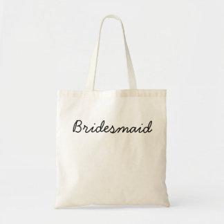 Budget Bridesmaid Tote Budget Tote Bag