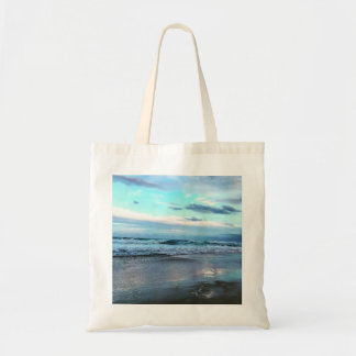 Budget Tote Bag Ocean Sunset.