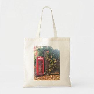 Budget Tote. Telephone Box. Tote Bag