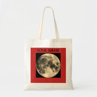 Budget Tote WITH FULL MOON PERSONALIZABLE