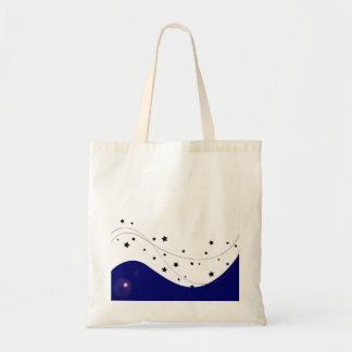 Budget tote with heaven stars