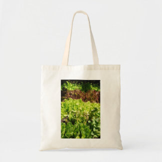 Budget Tote with Lettuce Image