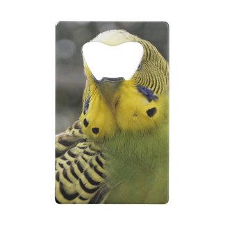 Budgie Bird Wallet Bottle Opener