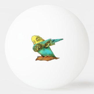 Budgie Budgerigar Dabbing Ping Pong Ball