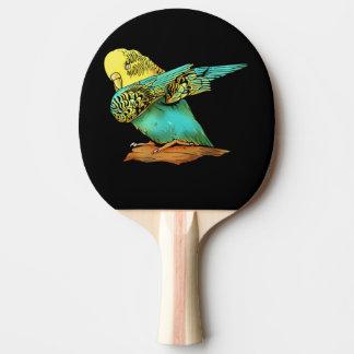 Budgie Budgerigar Dabbing Ping Pong Paddle