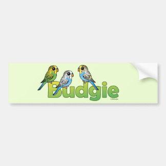 BUDGIE BUMPER STICKER