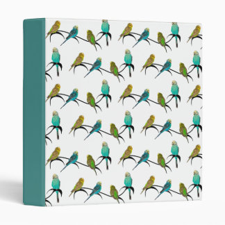 Budgie Frenzy Binder (choose colour)