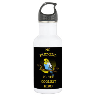 Budgie is the Coolest Bird 532 Ml Water Bottle