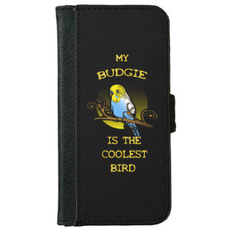 Budgie is the Coolest Bird iPhone 6 Wallet Case