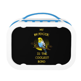 Budgie is the Coolest Bird Lunchboxes