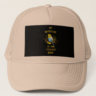 Budgie is the Coolest Bird Trucker Hat