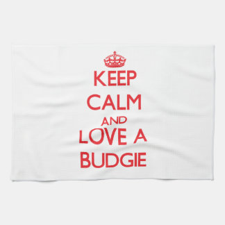 Budgie Kitchen Towel