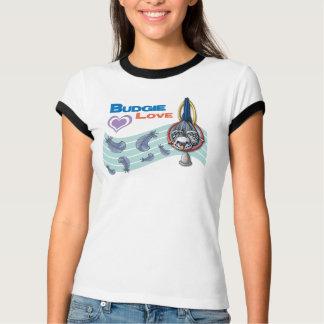"Budgie Love ""Cutie"" T-Shirt (lt)"