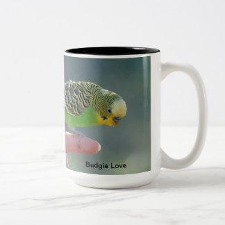 Budgie Love Mug