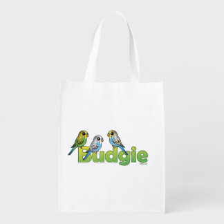 BUDGIE REUSABLE GROCERY BAG