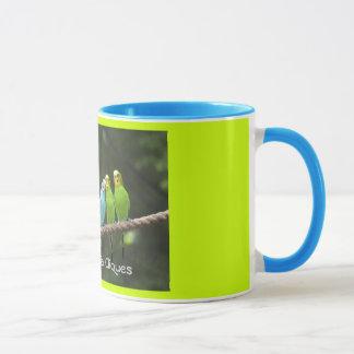 Budgie Social Cliques Coffee Mug