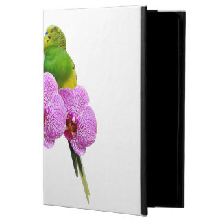 Budgie with Purple Orchid Powis iPad Air 2 Case