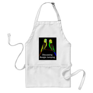 Budgies discussing Budgie Jumping Standard Apron