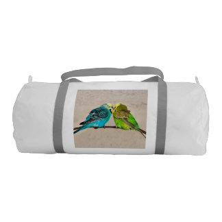 Budgies in Love Gym Bag (choose colour)