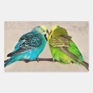 Budgies in Love Sticker