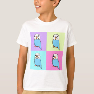 Budgies Pop Art T shirt