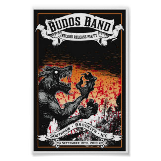 Budos Band III Record Release Poster