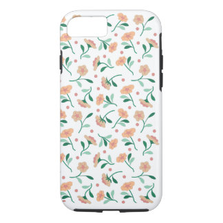 Buds on White iPhone 7 Tough Case