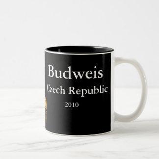 Budweis, Czech republic Two-Tone Coffee Mug