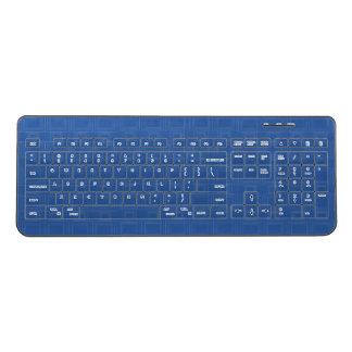 Bue Geometric Design Wireless Keyboard