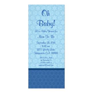 Bue Stars Modern Boy Baby Shower 2 B602 Card
